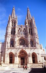Die Kathedrale in Burgos